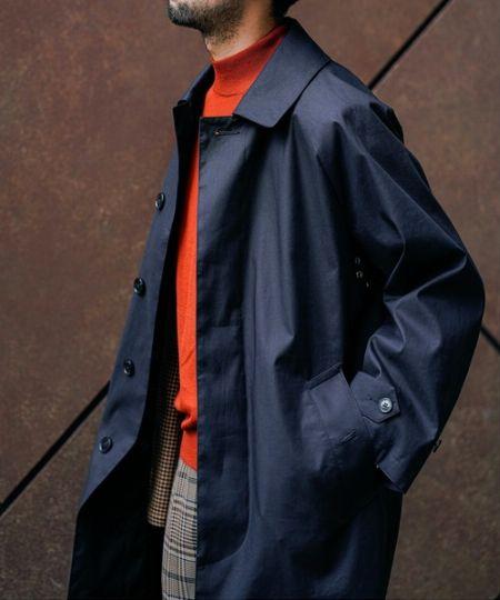 ステンカラーコートとは 3枚目の画像