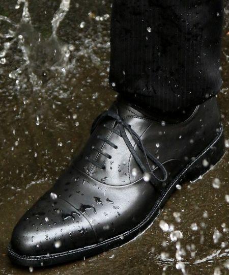 雨に耐える、透湿防水機能
