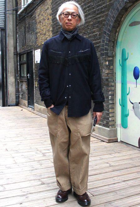テーマ6:女性だけじゃない! ロンドンに集まった日本人の男性スナップ