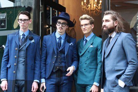 場内だけじゃない。ロンドンファッションウィークは場外もアツい!