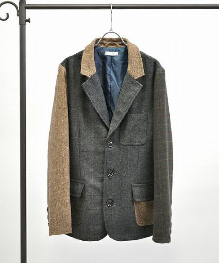 秋冬ジャケットは素材選びが肝心です