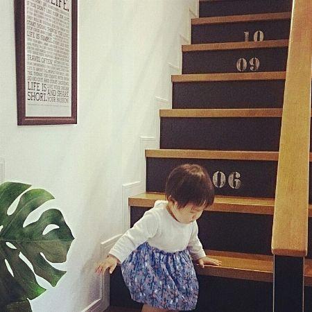 階段スペースも無駄なくおしゃれに
