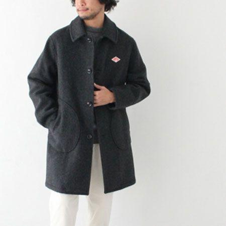 『ダントン』ウールモッサシングルコート