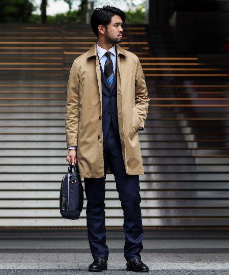 防寒性も見た目も抜群。スーツに似合うきれいめダウンが欲しい! 2枚目の画像