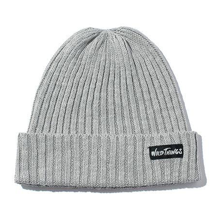 『ワイルドシングス』の綿麻ニット帽