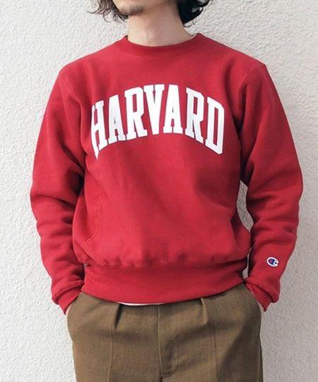 ハーバード CR USA wi/スウェット