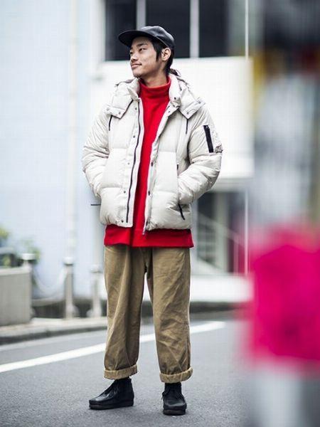 大人のコーデにハマる。『西川ダウン』の着こなしサンプル 5枚目の画像