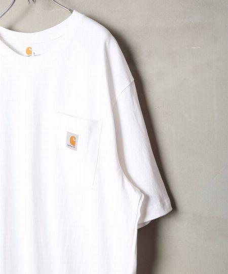 『カーハート』ワークウェア ポケットショートスリーブ Tシャツ