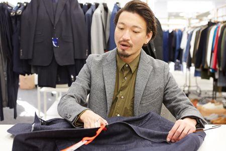 林田さんにずばり聞く。今季らしいジャケパンスタイルとは? 2枚目の画像