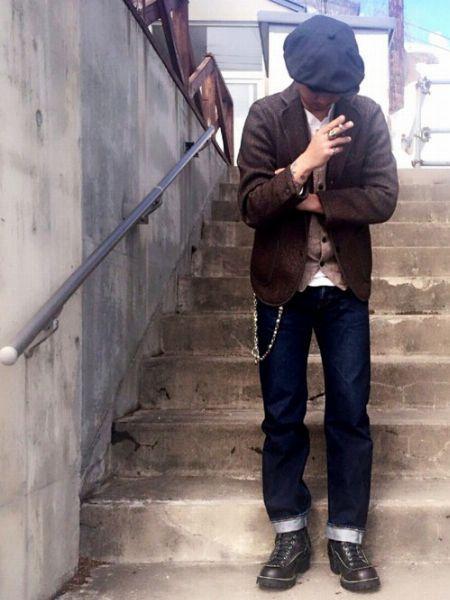 『ウエスコ』のブーツ。愛用者の着こなしをチェック 3枚目の画像