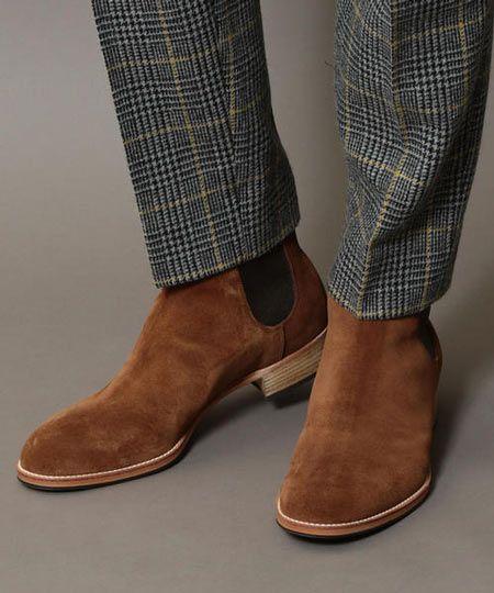 『ビューティー&ユース』サイドゴア ブーツ