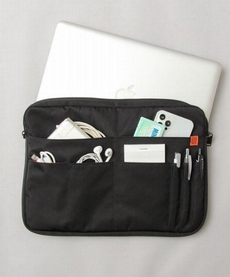 バッグの中身がいつもごちゃごちゃ。そんなときは、バッグインバッグの出番