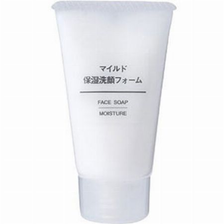 『無印良品』マイルド保湿洗顔フォーム