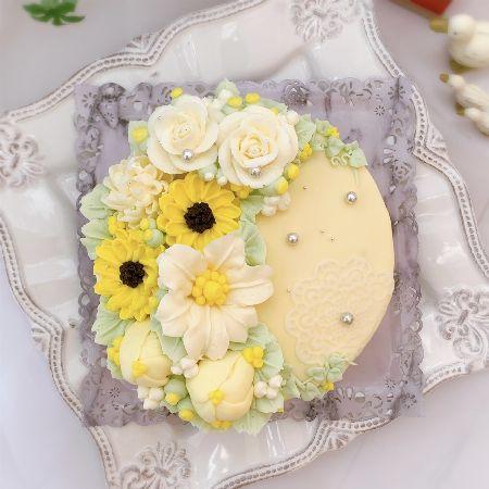 『Candy MERU』花畑クリームチーズケーキ/6,264円(税込)