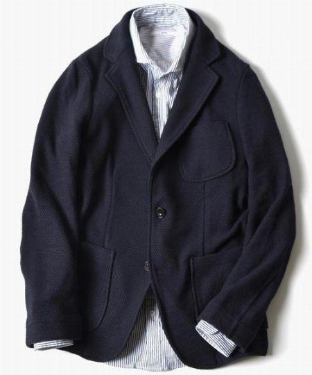 """この春のジャケット選びは""""素材""""が重要です"""