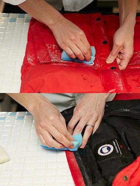 4.汚れた部分に直接石けんを塗る 2枚目の画像