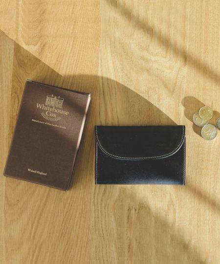 『グレンロイヤル』ブライドルレザー 二つ折り長財布