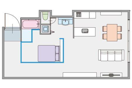 インテリアのプロが作った、自分のためのくつろぎ空間 2枚目の画像
