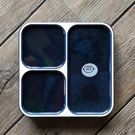 『フードマン』薄型弁当箱