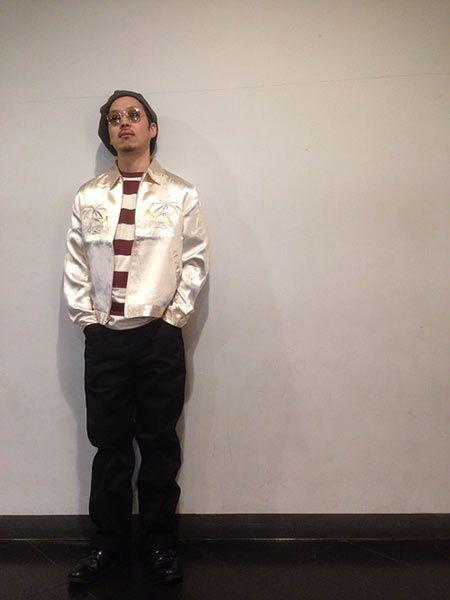 アウター6:ペールトーンのスーベニアジャケット 3枚目の画像