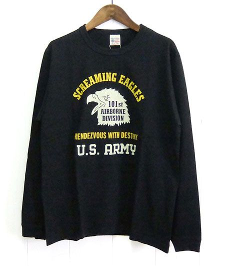 『バズリクソンズ』長袖Tシャツ 101st AIRBORNE DIVISION