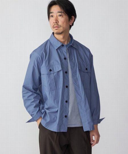 『ドレイクス』ワークシャツジャケット