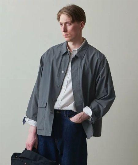 『スティーブン・アラン』シャツジャケット