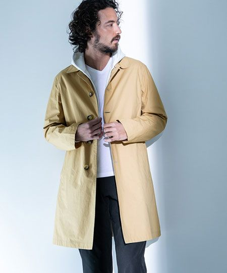 スプリングコートは気温が安定しない時期の羽織りに最適