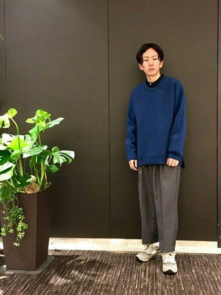 お洒落コーデに見る、オーバーサイズの着こなし方 3枚目の画像