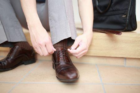 靴を脱いだとき、足におっていませんか?
