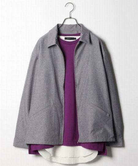 軽くてさっと羽織れる! 薄手のジャケット