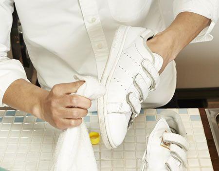 6.落ちない汚れはエタノールで拭き取る