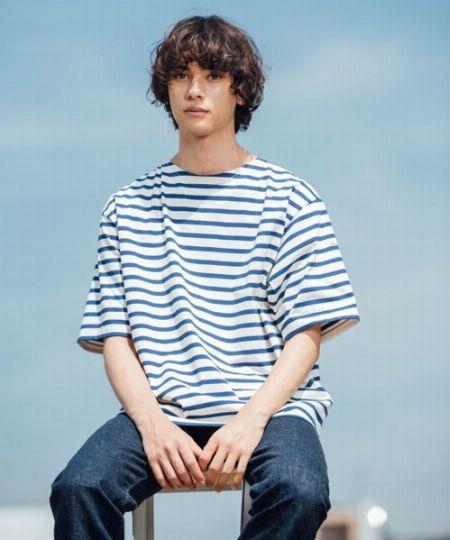 上品で心地良い。『オーシバル』のバスクシャツ