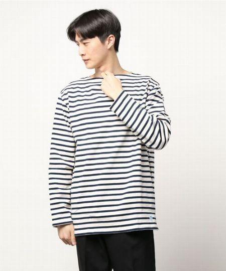 上品で心地良い。『オーシバル』のバスクシャツ 2枚目の画像
