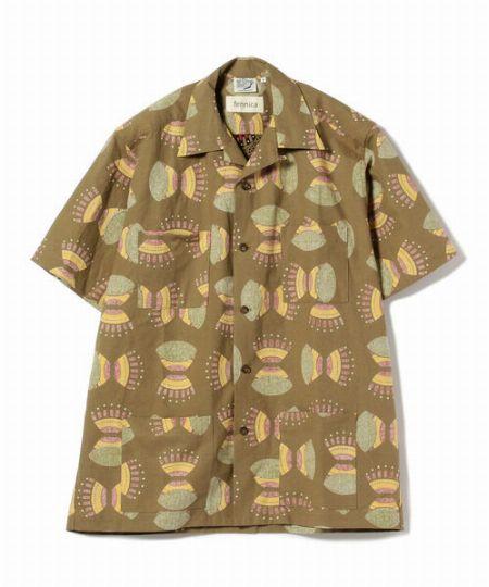 『アダム エ ロペ』ルーズシルエット オープンカラーシャツ