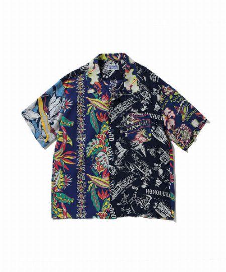 『ブラック ウィドー』クレイジーパターンシャツ