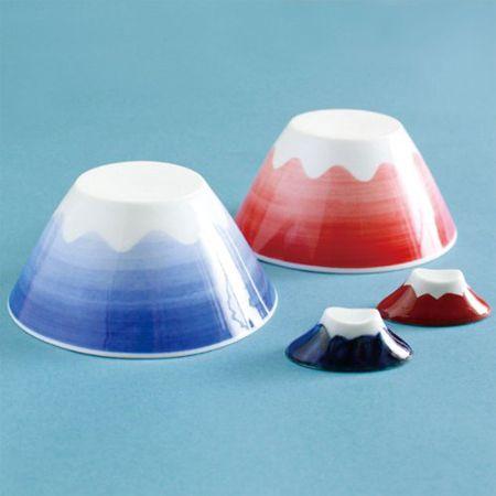 「日本人で良かった~!」と思える富士山のお茶碗