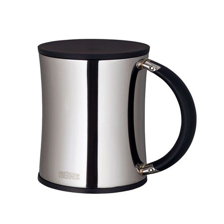 『サーモス』の真空断熱マグでコーヒーブレ イク