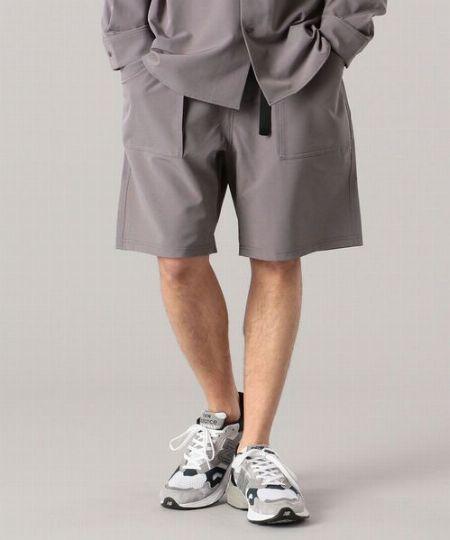 『シップス』シェルテック リラックステーラードジャケット&ガーデニング イージー ショートパンツ 2枚目の画像
