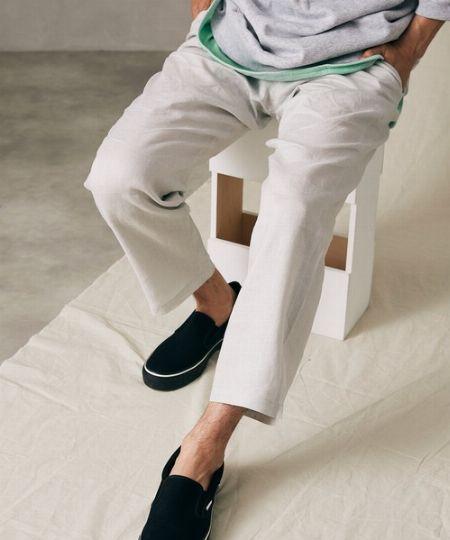 『ジャーナル スタンダード レリューム』フランダースリネン プレイングシャツ&プレイングイージーパンツ 2枚目の画像
