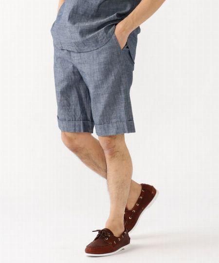 『チューブ』×『ビームス』別注シャンブレーシャツ&ショートパンツ 2枚目の画像