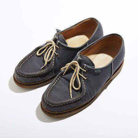 老舗靴ブランド『パラブーツ』の夏用シューズ