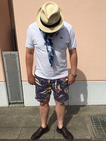 ラフな夏スタイルこそ、その品良さが頼りになる!