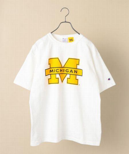『チャンピオン』T1011 ミシガンTシャツ