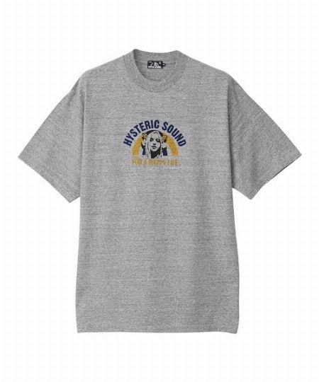 『ヒステリックグラマー』フォーハッピーライフ オーバーサイズTシャツ