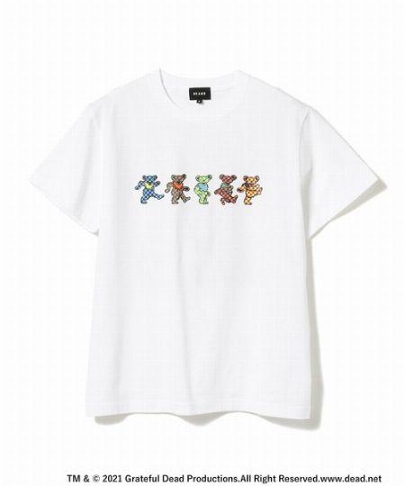 『ビームス』グレイトフル・デッド チェックベアTシャツ