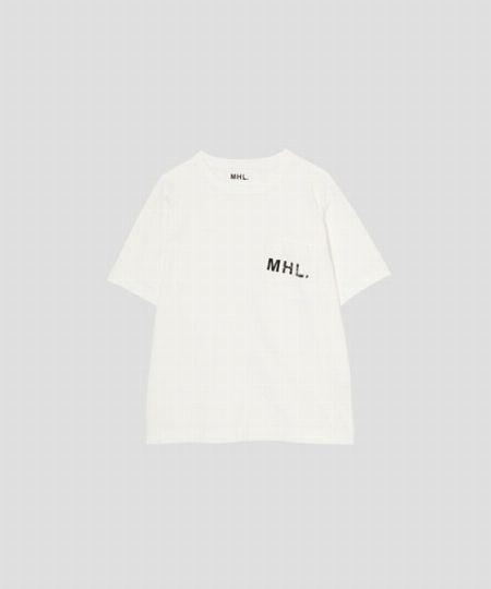 『MHL.』プリンテッドコットンジャージー