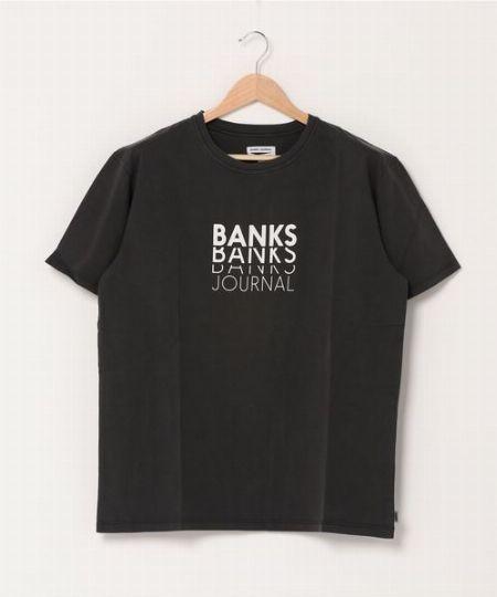 『バンクスジャーナル』ロゴプリントTシャツ