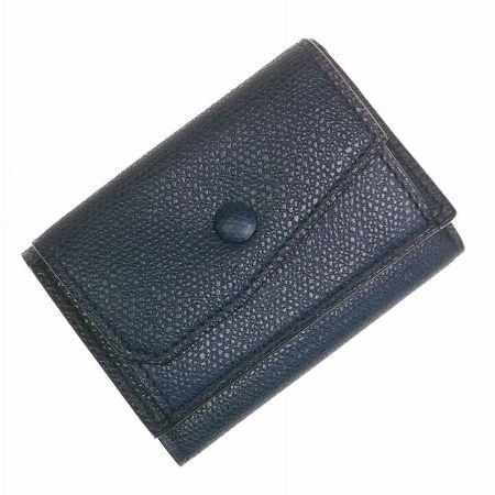 三つ折りレザー財布/3カード