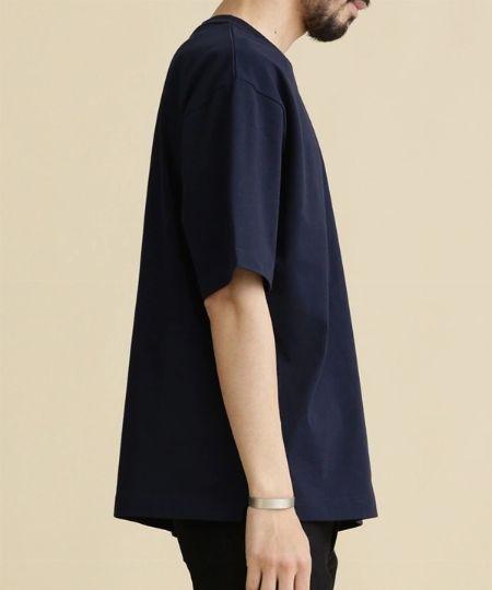 『グッドウェア』×『フリークスストア』別注ビッグシルエット ハイネックポケットTシャツ